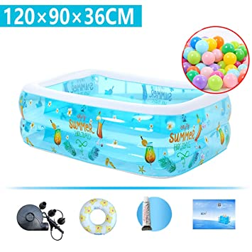 Amazon.com: Dapang Easy Set - Piscina hinchable, piscina ...