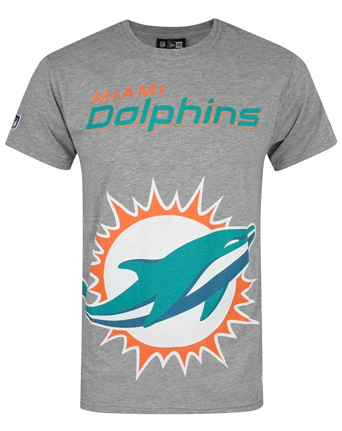 New Era T-Shirt Miami Dolphins Logo
