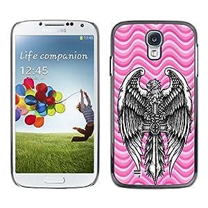 Dragon Case - FOR Samsung Galaxy S4 - Forgetting is so long - Caja protectora de pl??stico duro de la cubierta Dise?¡Ào Slim Fit