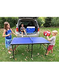 hathaway crossover portable table tennis table 60inch - Ping Pong Tables For Sale