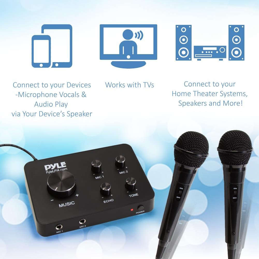 Amazon.com: Upgraded Version Portable Home Theater Karaoke ...
