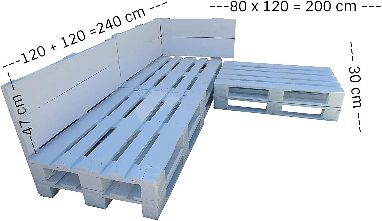 Conjunto de muebles con palets de Madera - Mobiliario Chill ...