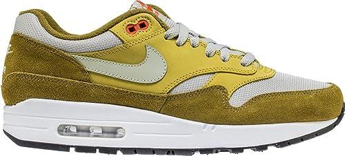 12c1deb7ad Nike Air Max 1 Premium Retro Men's Shoes Olive Flak/Spruce Fog 908366-300