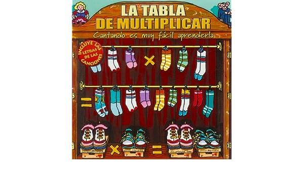 La Tabla de Multiplicar by Los Profesores Cantantes on Amazon Music - Amazon.com
