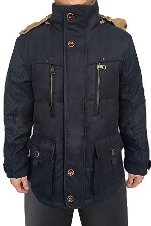 afe74a94d Mr.Stream Men's Mid Length Windbreaker Hooded Casual Coat Outerwear Fleece  Military Parka Sherpa Jacket