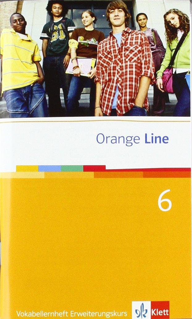 Orange Line / Vokabellernheft Teil 6 (6. Lernjahr) Erweiterungskurs (Englisch) Broschüre – 1. November 2010 Frank Haß Klett 3125475775 Schulbücher