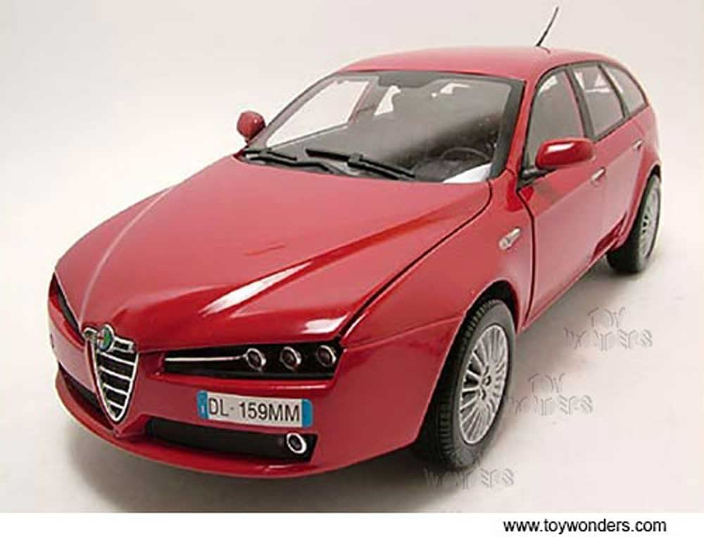 Alfa Romeo 159 SW Hard Top (1:18 scale diecast model car, Red)