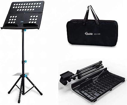 Black Kruzco Portable Music Stand for Sheet Holder