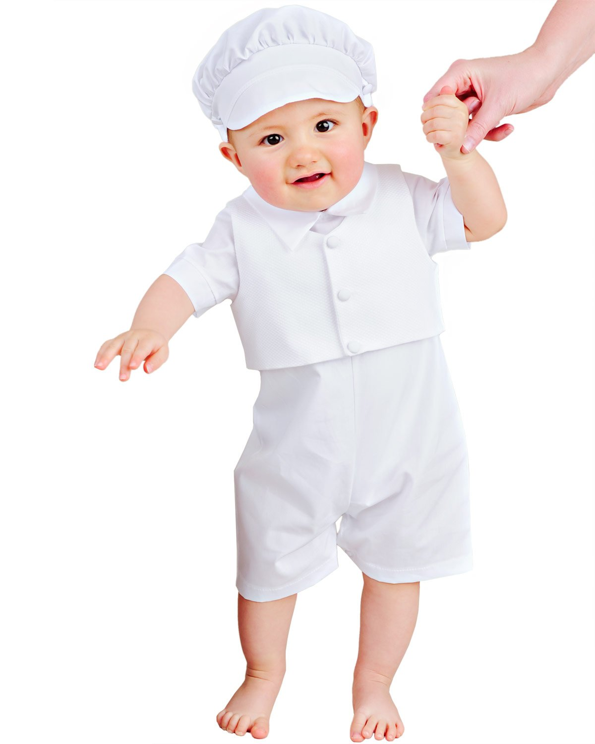 Amazon.com: Alex Christening or Baptism Outfit for Boys, Made in USA ...