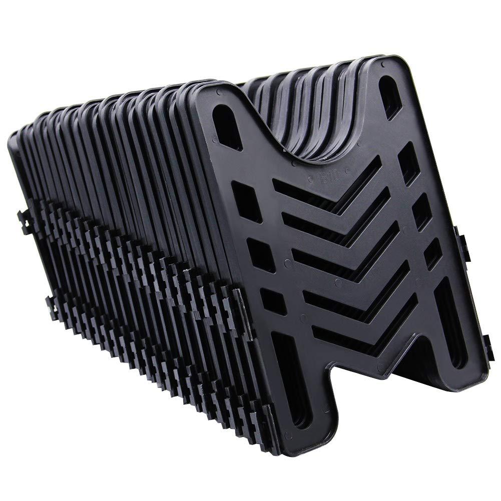 HosSepot 20ft RV Sewer Hose Support with Durable Canvas Bag for Camper Trailer Sewage, Holds 3'' Hose by HosSepot