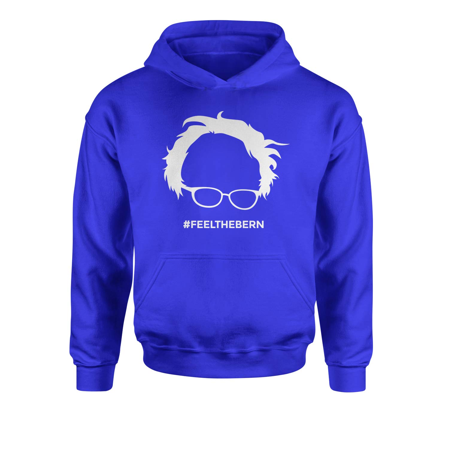 Expression Tees Feel The Bern Bernie Sanders for President 2020 Youth-Sized Hoodie