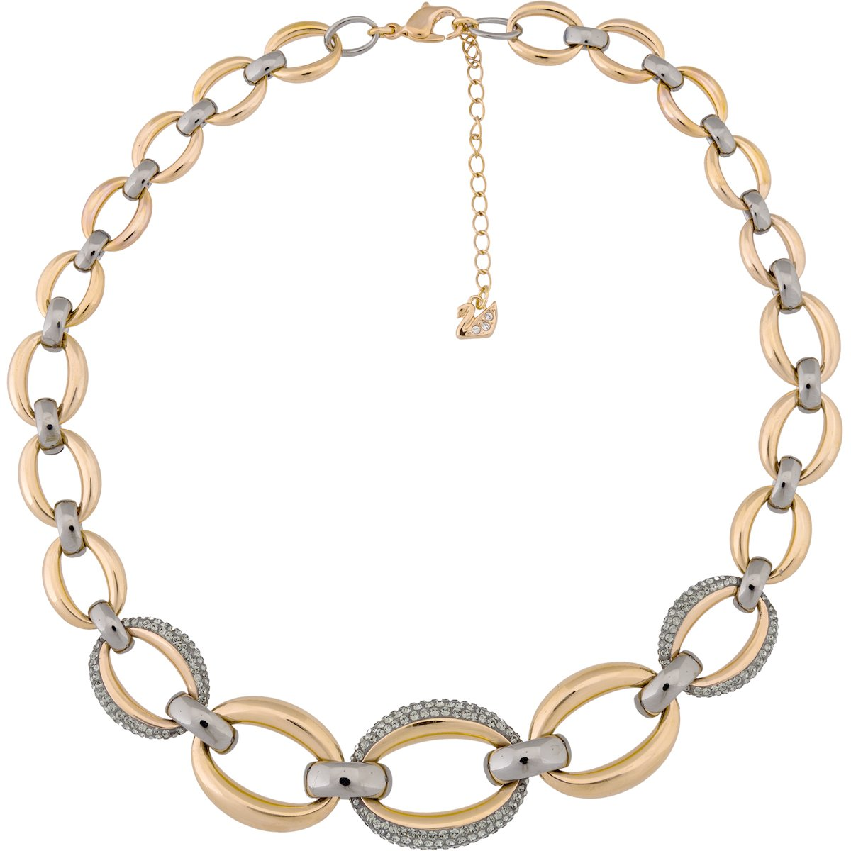 5153380 Woman necklace Swarovski Circlet EslabonesCristal Swarvoski