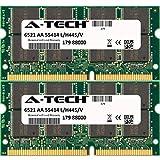 1GB KIT (2 x 512MB) For Acer Travelmate Series 661LCi 661LMi 661LVi 661XCi 661XVi 662 662LCi 662LMi 663LMi 800LCi 800LCi (i855PM) 800LMi 800XCi (i855PM) 801LCi 802LCi 803LCi 803LCi (i855PM) 803LCIB 803LMi 803LMIB 804LCi 804LCIB 804LMi C110 (Tablet PC) C110TCi (Tablet PC) C110Ti (Tablet PC) C111 (Tablet PC) C112 C112TCi C112TCi-SP2 C112Ti-SP2 C113TCi C301XMi. SO-DIMM DDR NON-ECC PC2100 266MHz RAM Memory. Genuine A-Tech Brand.