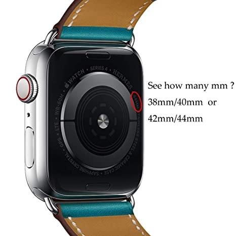 Amazon.com: Compatible with Apple Watch Band 44mm 42mm 40mm ...