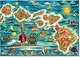 steel refridgerator magnets - Hawaiian Art Collectible Refrigerator Magnet - Dole Map of the Hawaiian Islands