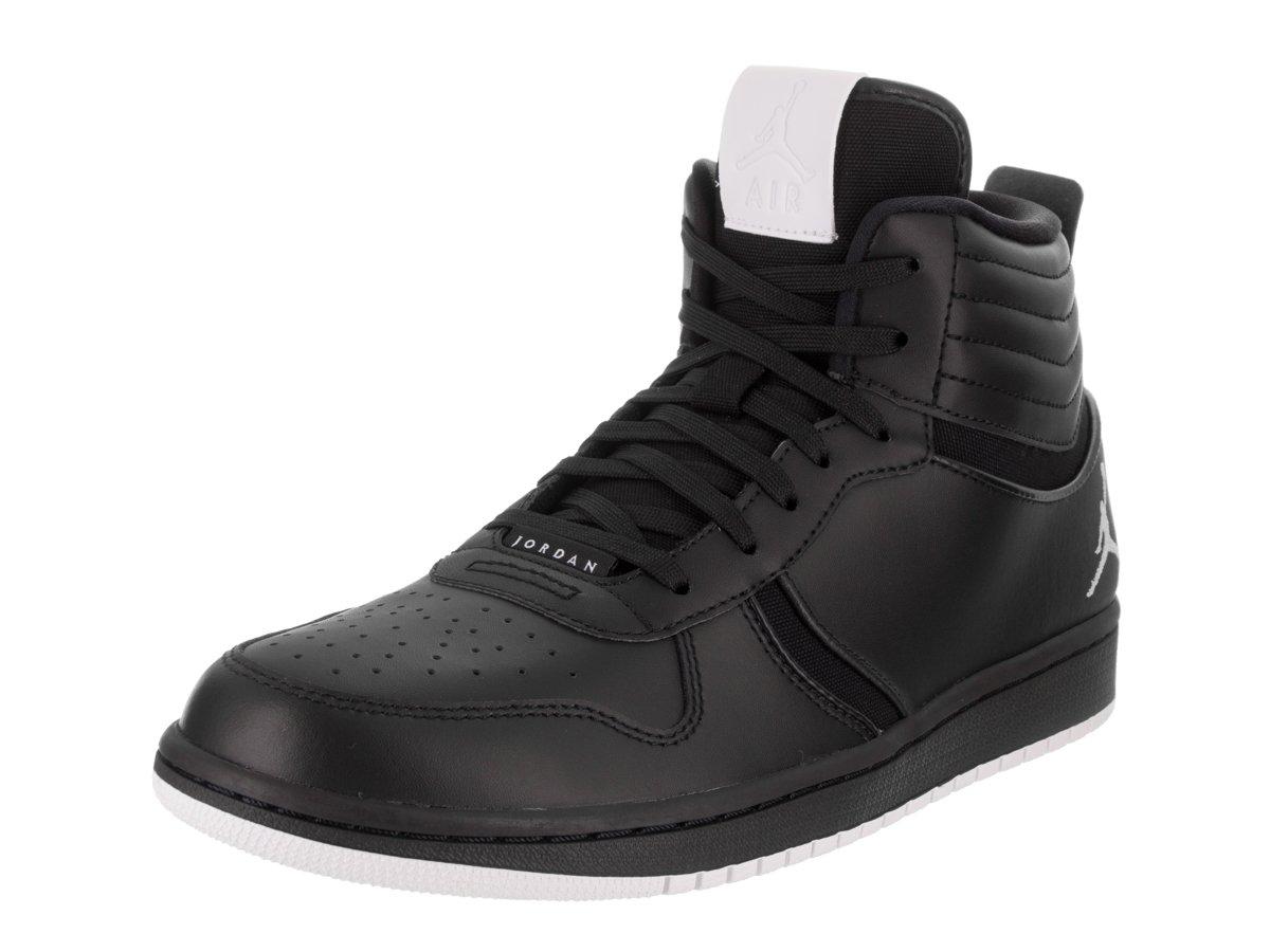Jordan Nike Men's Heritage B00C9PRXZE 10.5 D(M) US|Black/White-black