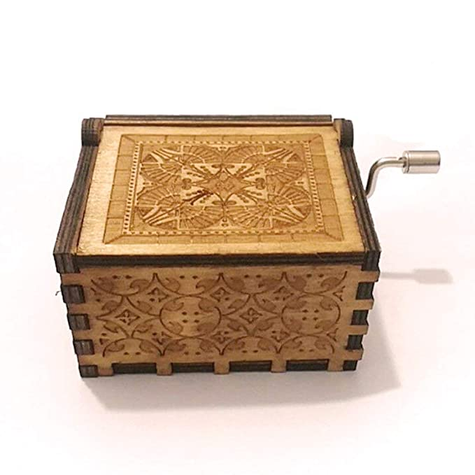 carsge Caja Musical Harry Potter de Madera Melodía Personalizadas (Azul-Harry Potter): Amazon.es: Hogar