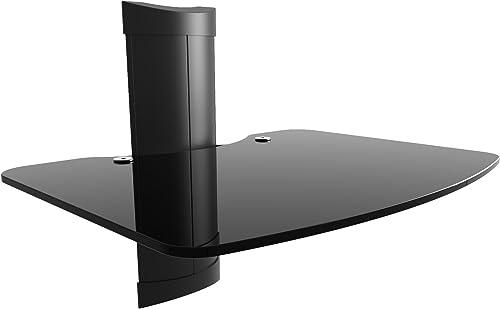 Kanto AVSM AV Component Wall Shelf – 1 Shelf