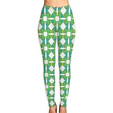 Amazon.com: FINOHM - Leggings de yoga para mujer con fondo ...
