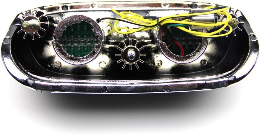 LED-Bremslicht mit integrierten Blinker f/ür Kawasaki ZZR 600 1993//2005 ZZR1100 1993//2001 Get/önt