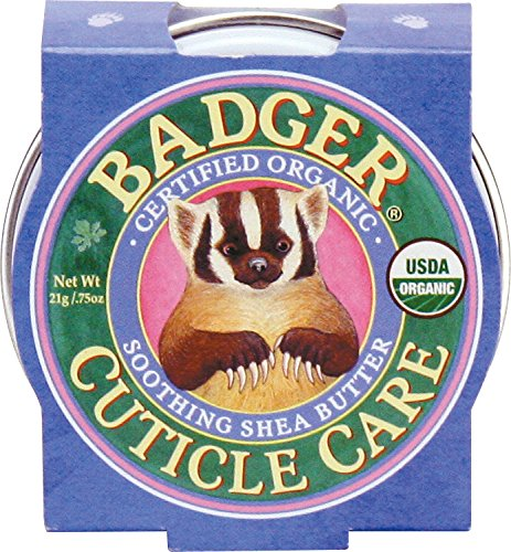 Badger - Certified Organic Cuticle Care- Soothing Shea Butter - .75 oz. - 1 Pack (Best Thing For Dry Cuticles)