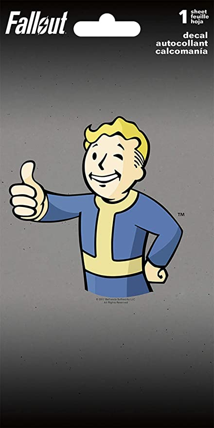 Amazon.com: Fallout Vault Boy 4