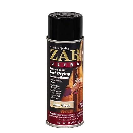 Zar 34007 Gloss Ultra Exterior Fast Drying Polyurethane Spray 11
