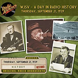 WJSV - A Day in Radio History Radio/TV Program