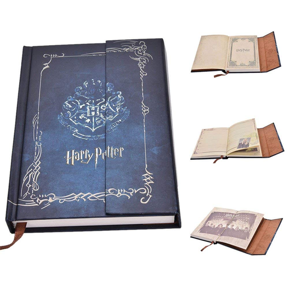 New Arrival Harry Potter Vintage Notebook Harry Potter Journal Book Diary Book/Hard Cover Note Book/Notepad/Agenda Planner Gift