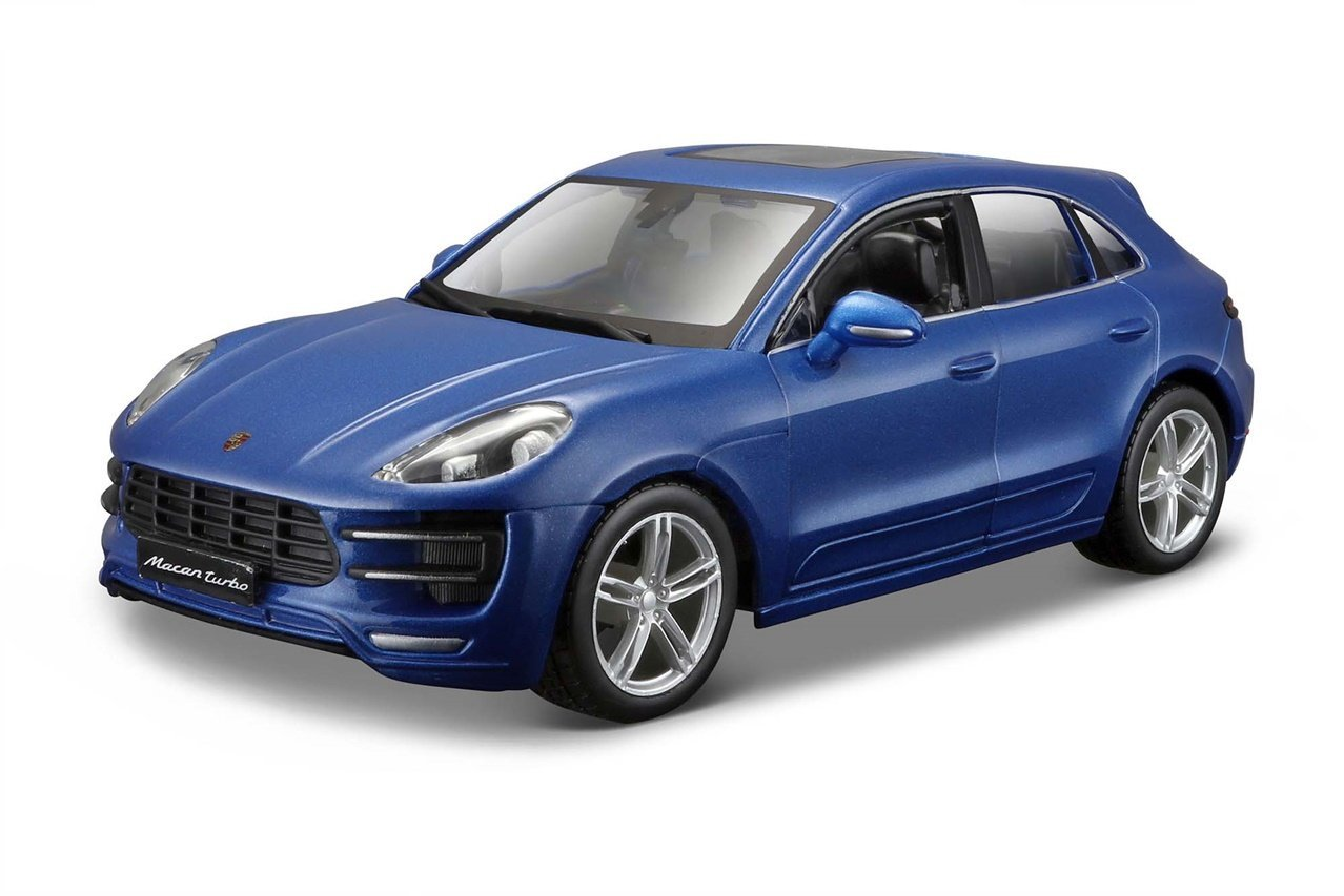 Bburago/ 1821077b /Voiture M/étal Porsche Macan Bleu /Échelle 1: 24 Couleur