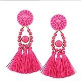 Shining Diva Fashion Bohemian Tassel Stylish Fancy Party Wear Earrings for Women & Girls