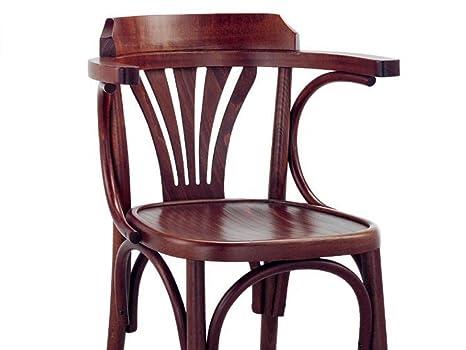 Sedie In Legno Con Braccioli : Infabbrica bistrot sedia classica in legno con braccioli