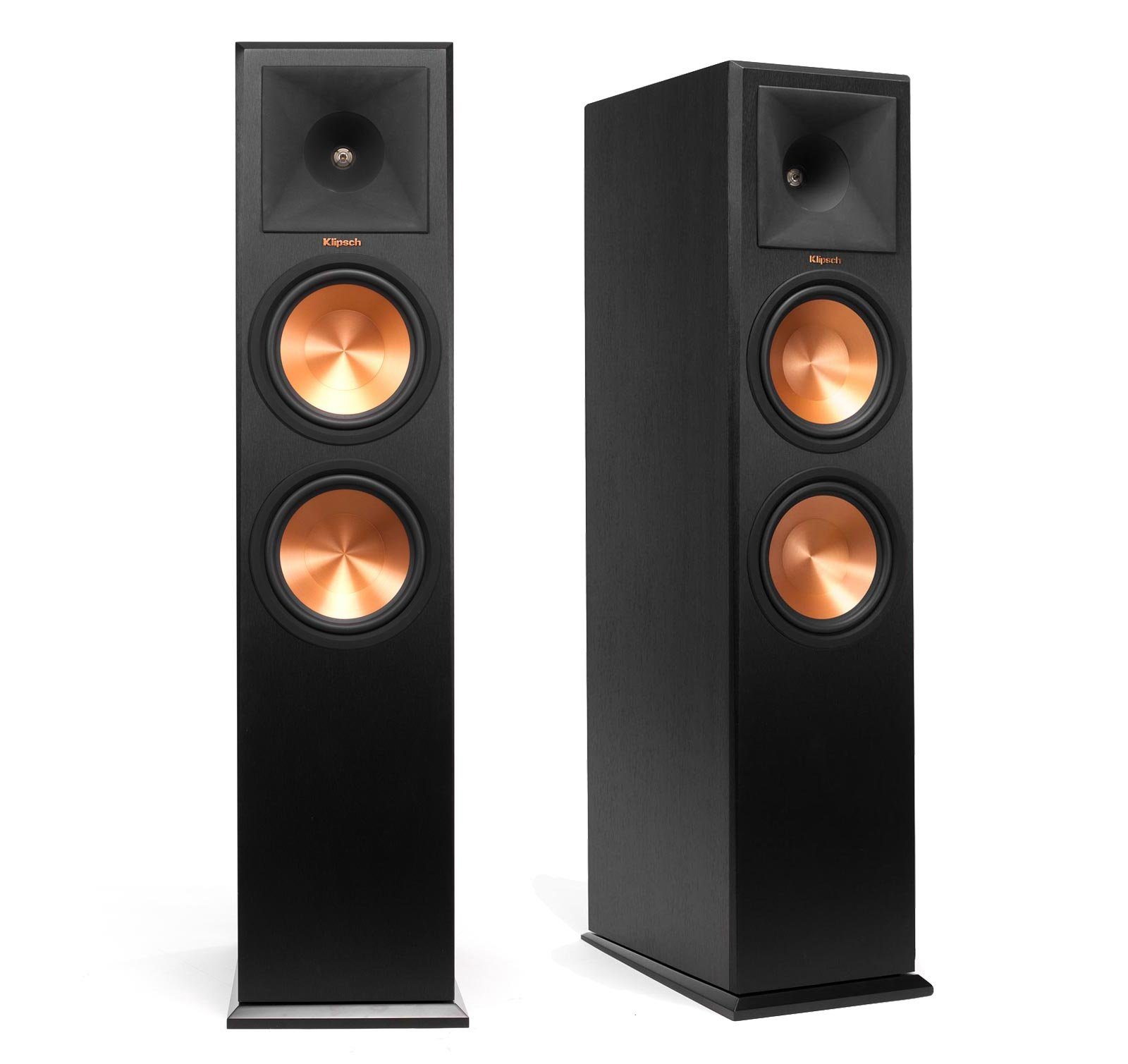 Klipsch RP 280F Reference Premiere Floorstanding Speaker With Dual 8 Inch Cerametallic Cone Woofers