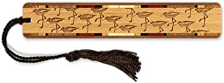 product image for Sandpipers - Shorebirds - Birds Engraved Wooden Bookmark with Tassel