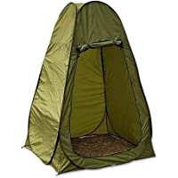 VOVI Outdoor Toilet Tent with Larger 1.8M Changing Bathing Tent Mobile Toilet Quick Opening Tent Portable Camping Beach Toilet Pop Up Tents Changing Dressing Room Outdoor Backpack Shelter