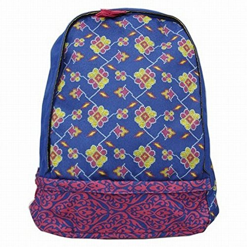 xhilaration-blue-damask-backpack-with-laptop-sleeve-sport-school-travel-pack
