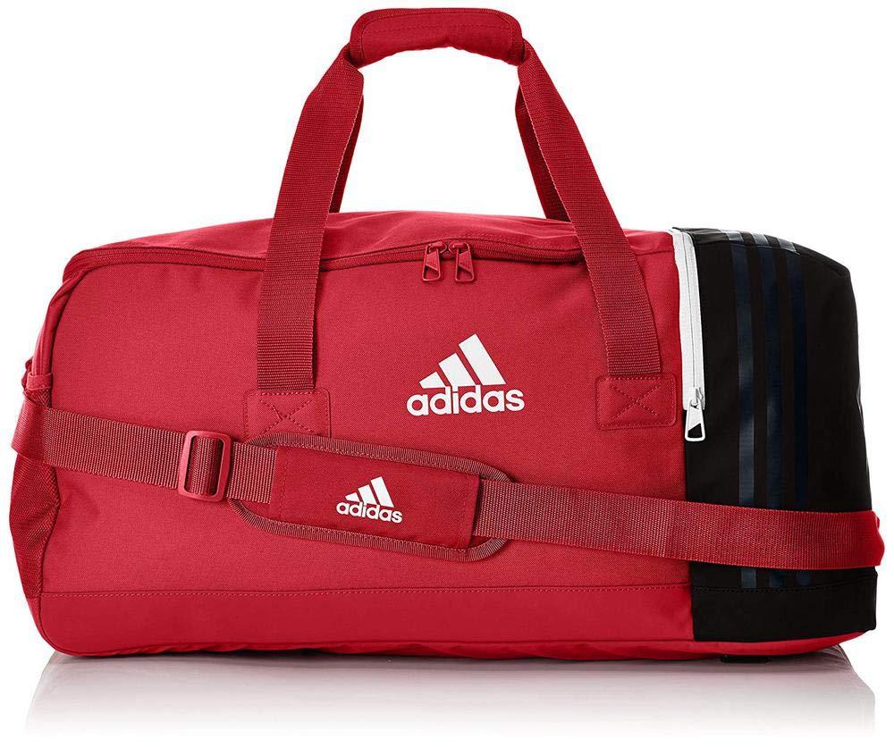 - M rouge//noir Mixte Adulte BS4739 adidas Multicolore Sac de Sport