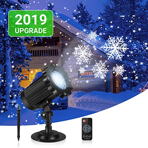 Outdoor Snowflake Light Projector in US - 6