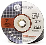 25 Pack - 7'' x .045'' x 7/8'' Type 1 Metal, Steel & Stainless Cutting Wheel