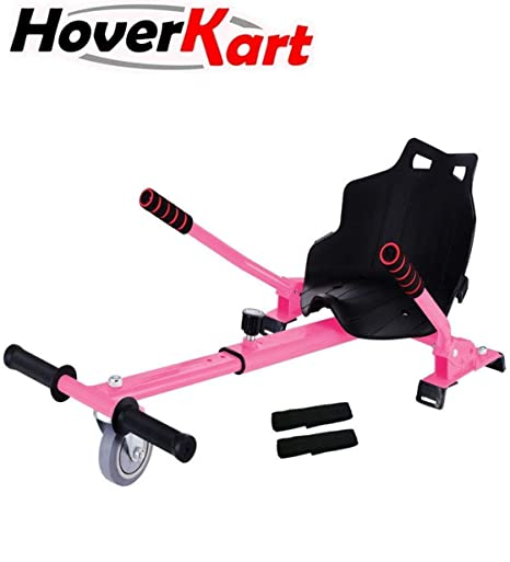 MOBILE+ HoverKart, Asiento para Hoverboard. Convierte tu Hoverboard en un Kart con Este Asiento Apto para Modelos DE 6.5