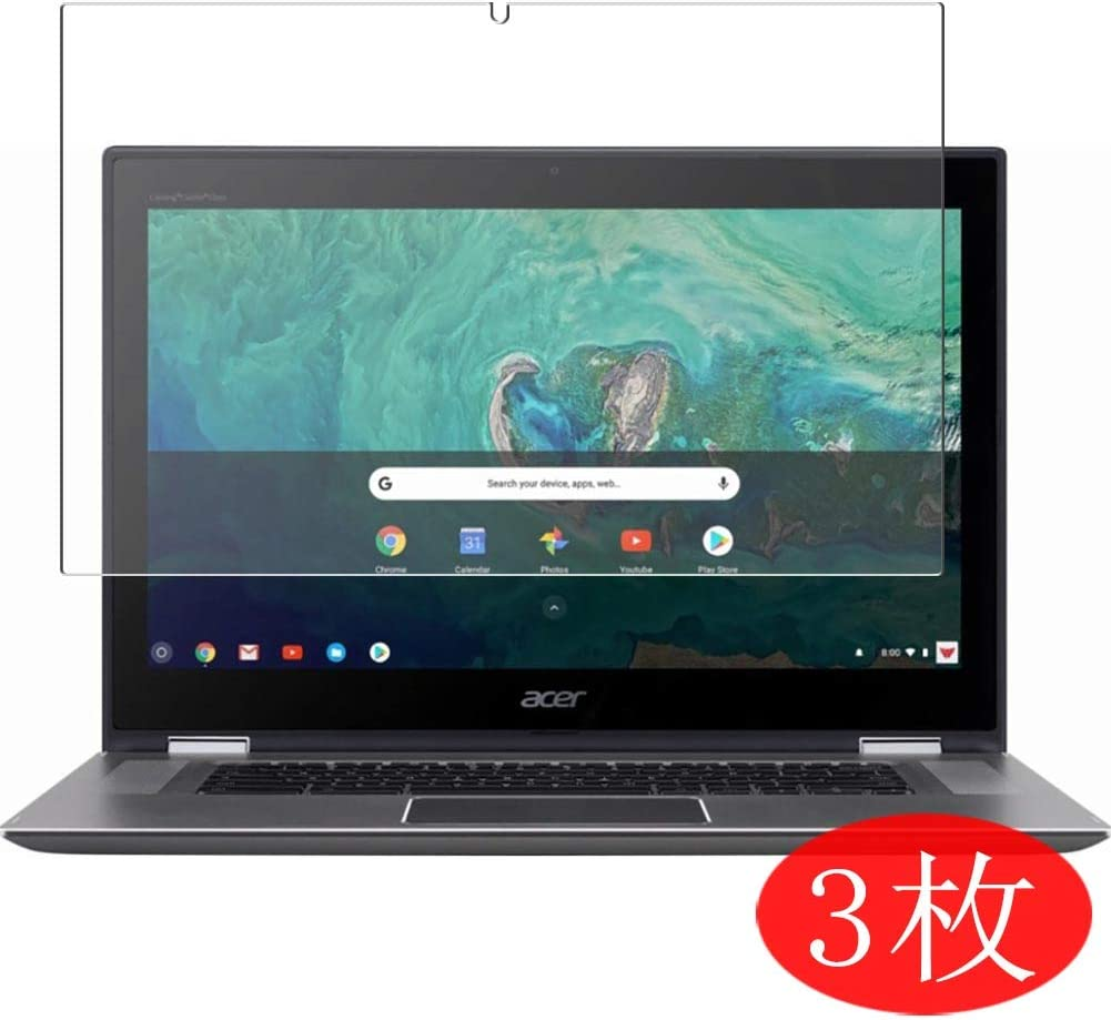 """【3 Pack】 Synvy Screen Protector for Acer Chromebook Spin 15 CP315-1H 15.6"""" TPU Flexible HD Film Protective Protectors [Not Tempered Glass]"""