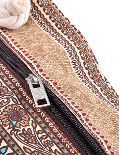 Multicolor Mujer M Bolsos color Bolso al M de Lona Paquete E00252 Douguyan hombro B8dwpwq