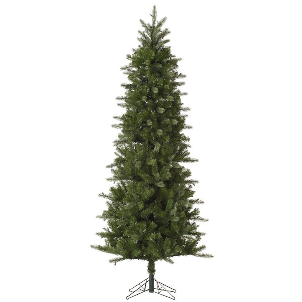 Vickerman Carolina Pencil Spruce Tree-Unlit, 7.5-Feet, Green