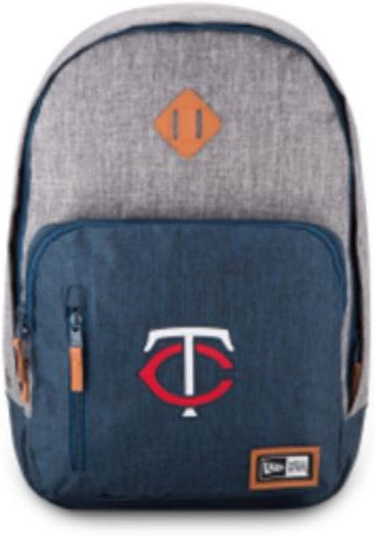 New Era Minnesota Twins Cram Action Backpack MLB Baseball Team Laptop Slot MSP