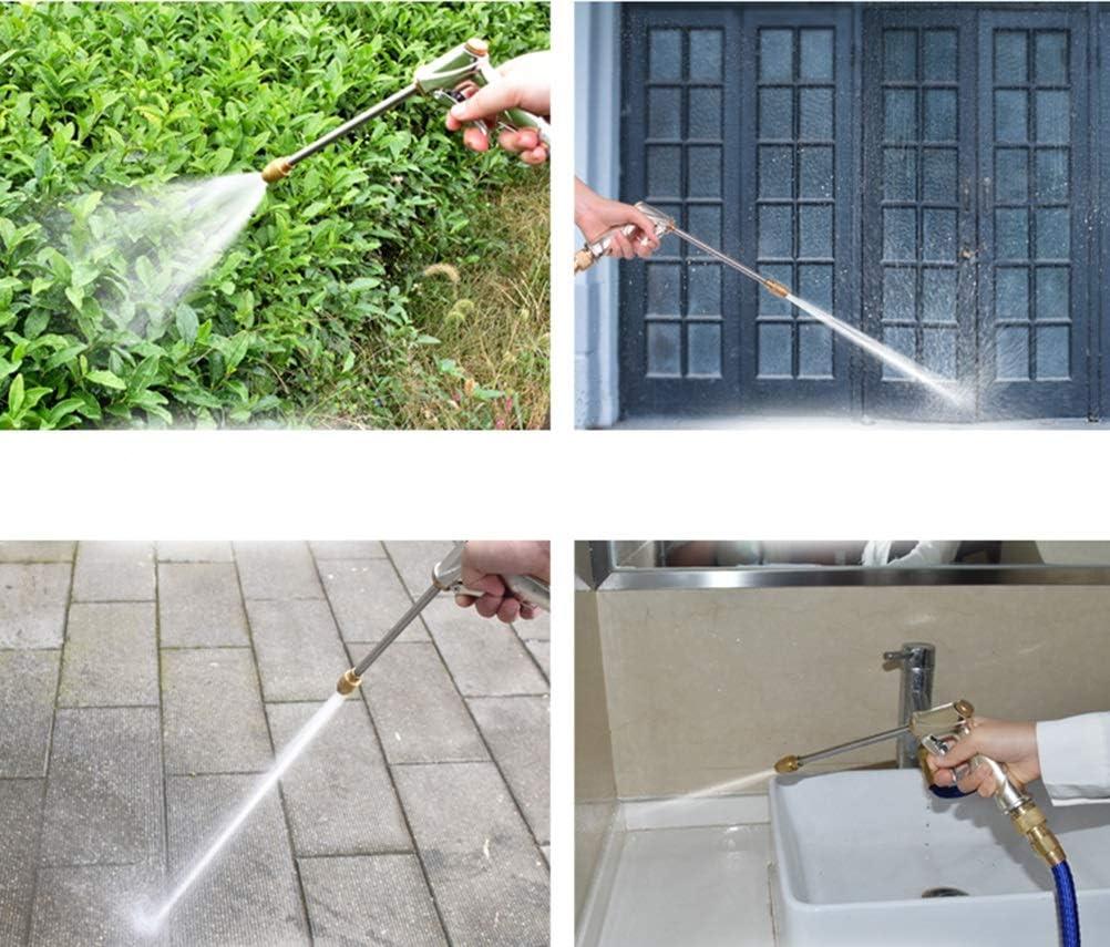 SS Faucet Tuyau Darrosage Flexible Et Extensible Extensible /À 8 Fonctions Elastique Flexible pour Irrigation Et Nettoyage du Jardin Noir 10 M//15m//20m//30m//40m Blue Taille : 7.5M