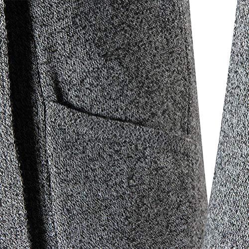 Giovane Blu Lungo Collo Uomo Sciallato Yasminey Abbigliamento Da Scialle A Morbido Caldo E Colletto Uomo Invernale Con qzCRwFCxa
