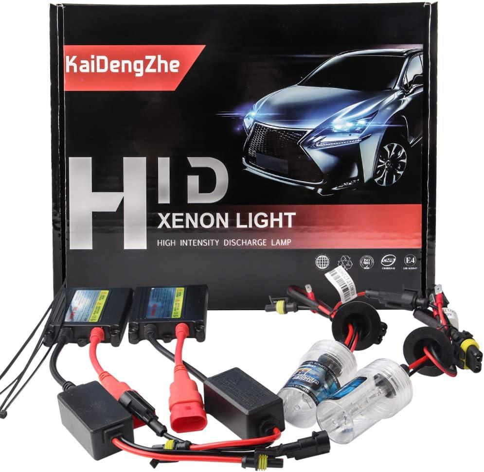 2 Unids H7 HID Xenon Kit de Conversión + 55W Slim Ballast 12V 6000K Super Brillante-Alta Calidad-Canbus Error Free
