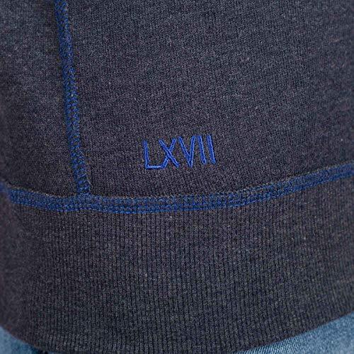 Sweat Marine Marine Sweat Fil Fil Sweat Bleu Bleu Laine Laine gdx6Tq4wn