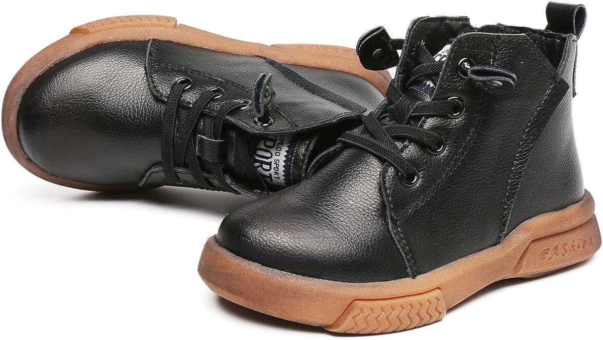 AoJay Les Filles Bottines pour Les Enfants Chaussures De Marche D/écontract/ées Imperm/éables Respirant