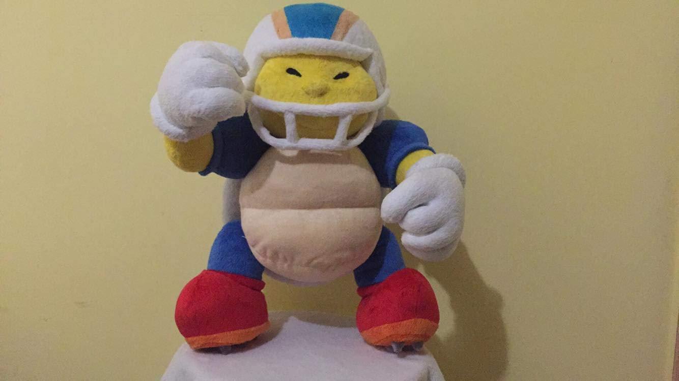 chargin Chuck Super Mario inspired minky 30 cm made to order Custom plush